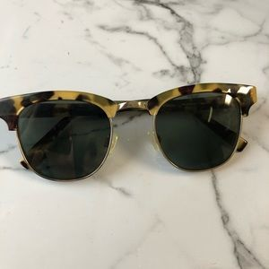 Warby Parker Hayes Frames (Magnified)